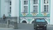 Мажор на «Гелендвагене» въехал на лестницу Эрмитажа