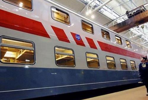 Двухэтажные поезда оказались небезопасны