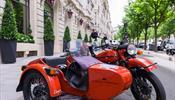 Лакшери-отель в Париже купил советские ретро-мотоциклы