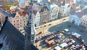 В пивном городе установили магическую карусель из Франции