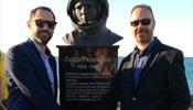 ΤΕΖ Tour помог установить бюст Юрия Гагарина на Крите