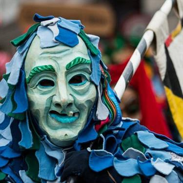 Ульм – шарм, фестиваль и  … непредсказуемые карнавальные персонажи