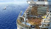 Самый большой круизный лайнер в мире покоряет Европу
