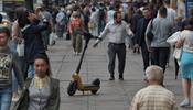 Количество наездов самокатчиков на пешеходов в С-Петербурге возросло «в десятки раз»
