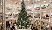 Роскошные покупки на Рождество в Breuninger и Dorotheen Quartier