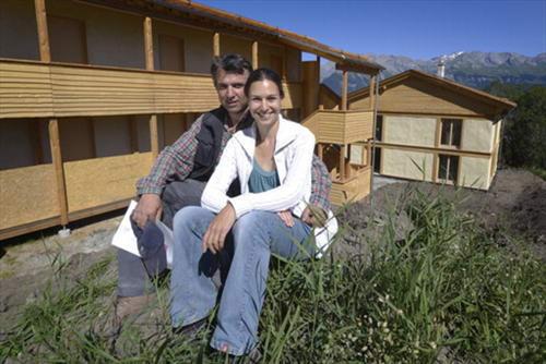 Экологичный отель из соломы и дерева