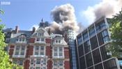 Пожар в Mandarin Oriental в Лондоне
