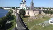 Псковский кремль – самая красивая крепость России