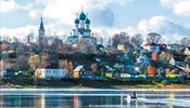 Теплоходы встали у Ярославля