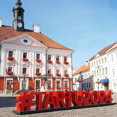 Тарту со временем станет культурной столицей Европы
