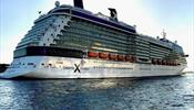 Шторм столкнул круизные лайнеры Celebrity и Costa