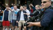 Англичане разгромили кафе в Лилле и провоцировали россиян на конфликт
