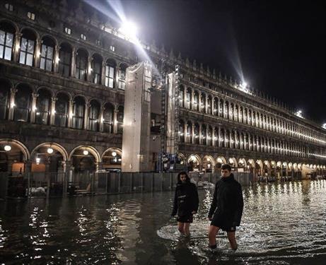 Венецию топит изменение климата