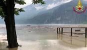 Наводнение на озере Комо