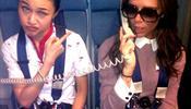 Жена Бекхэма оскандалила Cathay Pacific