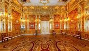 В «Царском селе» разрешили снимать Янтарную комнату