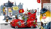 Кот Помпон и «Революционные коты» в С-Петербурге