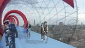 Лондон может удивить «небесными велодорожками»
