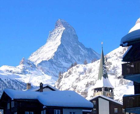 Церматт снова назван лучшим горнолыжным курортом в Альпах