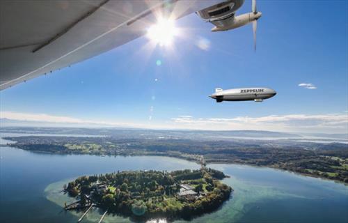Над Бодензее можно снова взлететь на дирижабле