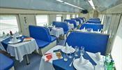 РЖД открывает вагоны-рестораны и доставку еды внутри поезда