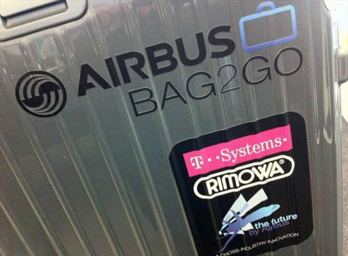 Airbus считает, что придумала чемодан,