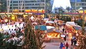 Рождественский базар - в аэропорту Мюнхена