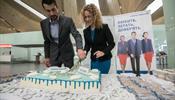 «Нордавиа» поздравила в «Пулково» своего миллионного пассажира