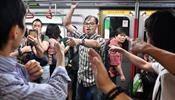 В Гонконге транспортный коллапс