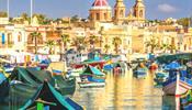 Мальта - Влечение ... культовый залив Марсашлокк
