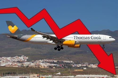 Акции Thomas Cook обрушились на 30%