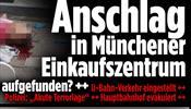 Стрелков в Мюнхене ищут вертолеты со снайперами