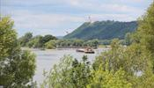 Сухогруз сел на мель и перегородил Дунай